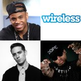 Mack WIlds, G Eazy & Kid Ink Wireless Festival Interviews